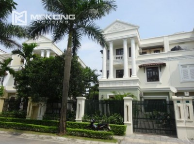 Spacious villa with 5 bedrooms for rent in C7 block, Ciputra Hanoi