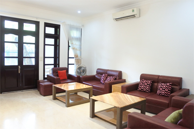 Spacious villa with 5 BRs for rent in D Block, Ciputra Hanoi, near UNIS school
