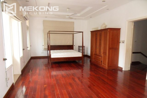 Spacious villa with large garden and out-door swimming pool for rent in To Ngoc Van street, Westlake area, Hanoi 16