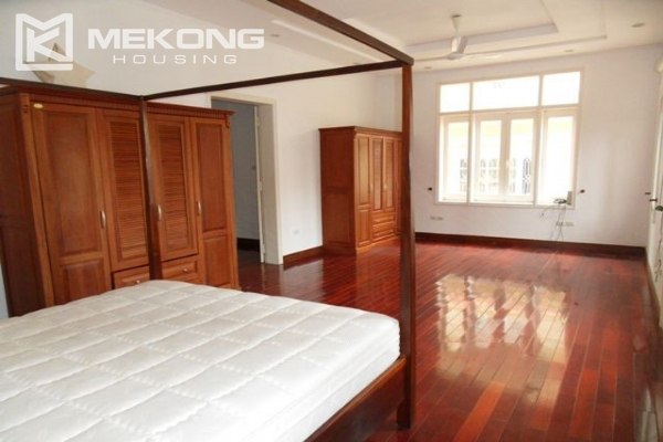Spacious villa with large garden and out-door swimming pool for rent in To Ngoc Van street, Westlake area, Hanoi 17