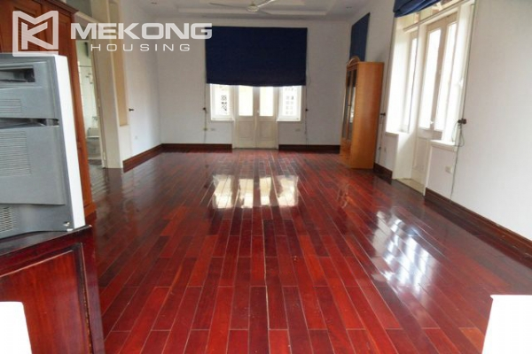 Spacious villa with large garden and out-door swimming pool for rent in To Ngoc Van street, Westlake area, Hanoi 18