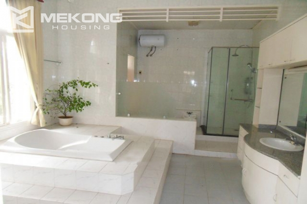 Spacious villa with large garden and out-door swimming pool for rent in To Ngoc Van street, Westlake area, Hanoi 19