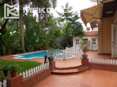 Spacious villa with large garden and out-door swimming pool in To Ngoc Van street, Westlake area