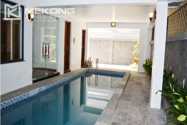 Spacious villa with swimming pool for rent in Tay Ho 3