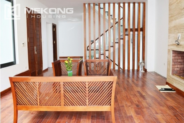 Spacious villa with swimming pool for rent in Tay Ho 10