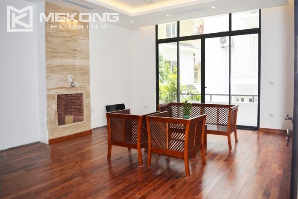 Spacious villa with swimming pool for rent in Tay Ho 9