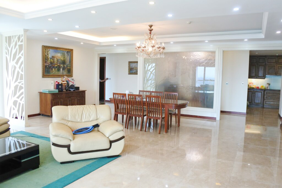 Splendid apartment with 4 bedrooms for rent in L2 tower, The Link Ciputra Hanoi 3