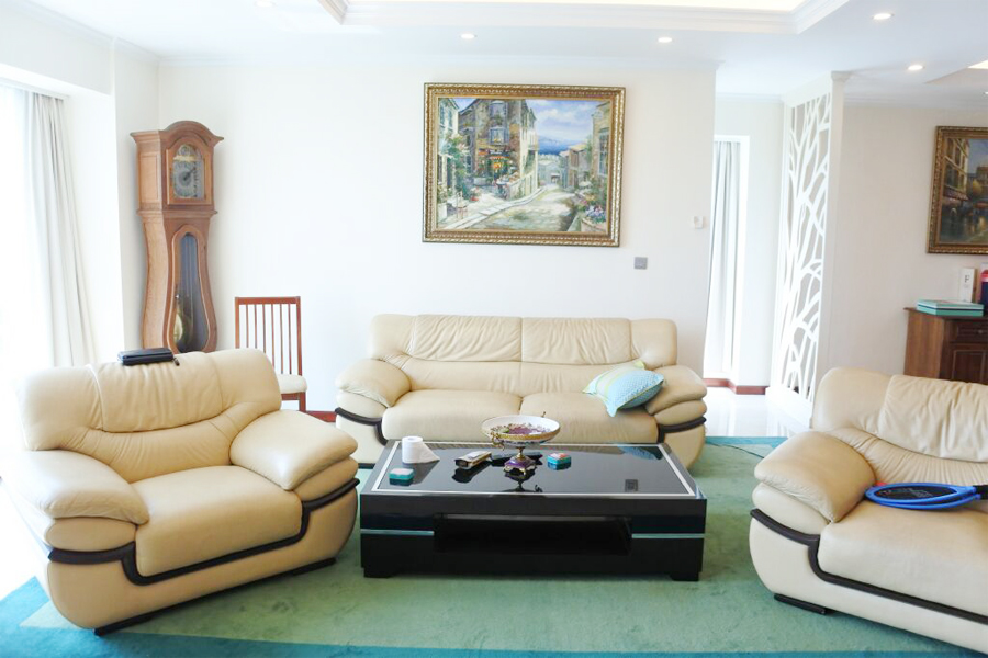 Splendid apartment with 4 bedrooms for rent in L2 tower, The Link Ciputra Hanoi 5