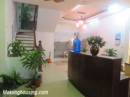 Studio serviced apartment for rent in Lang Ha street, Dong Da district, Hanoi 2