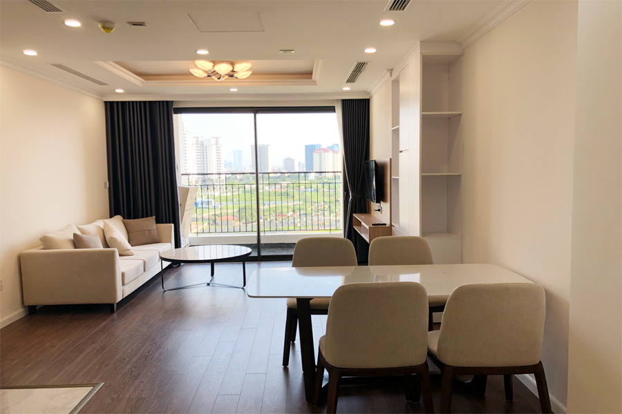 Stunning 3 BR apartment with green view in R1 tower, Sunshine Riverside Tay Ho 1