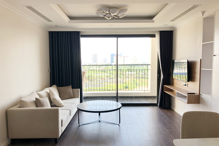 Stunning 3 BR apartment with green view in R1 tower, Sunshine Riverside Tay Ho 2