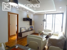Stunning apartment with 2 bedroom and big balcony for rent in Vinhomes Nguyen Chi Thanh