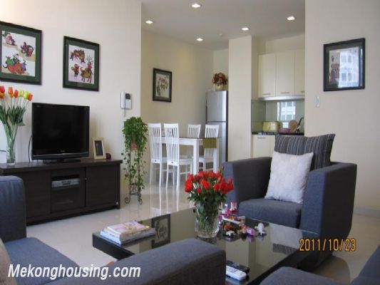 Stunning apartment with 2 bedroom for rent in Richland Southern Tower, Cau Giay district, Hanoi 1