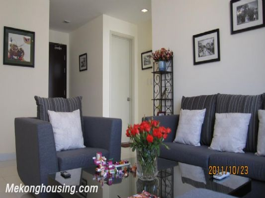Stunning apartment with 2 bedroom for rent in Richland Southern Tower, Cau Giay district, Hanoi 3