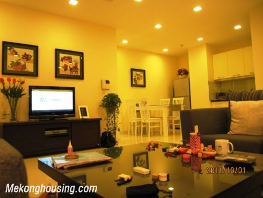 Stunning apartment with 2 bedroom for rent in Richland Southern Tower, Cau Giay district, Hanoi 4