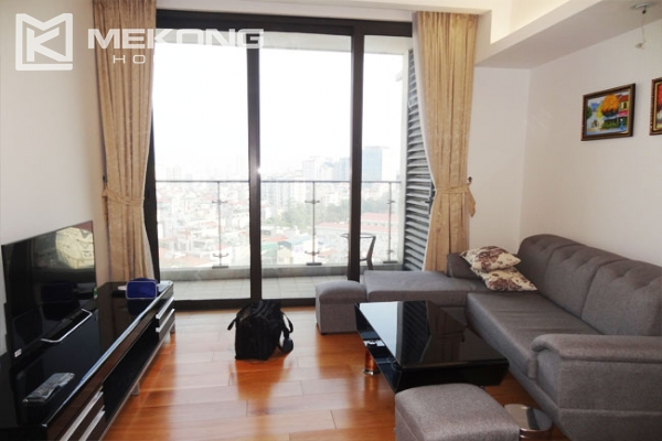 Stunning apartment with 2 bedrooms for rent in Indochina Plaza Hanoi 1