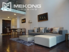 Stunning duplex apartment for rent in Hoang Thanh building