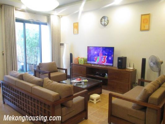 Stunning villa with 3 bedrooms and beautiful landscape view for rent in Gamuda Gardens, Hoang Mai, Hanoi 5