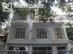 Style villa to rent with swimming pool in Au Co street, Tay Ho