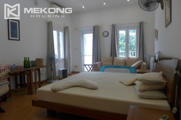 Style villa to rent with swimming pool in Au Co street, Tay Ho 15