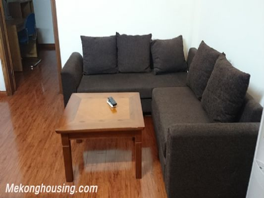 The serviced apartment is for rent on Linh Lang street, Ba Dinh, Hanoi