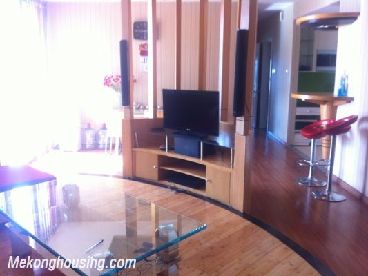 Three bedroom apartment for rent in Xuan Thuy street, Cau Giay district, Hanoi. 1