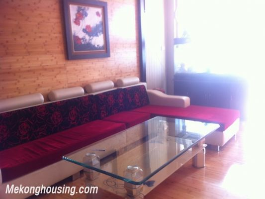 Three bedroom apartment for rent in Xuan Thuy street, Cau Giay district, Hanoi. 2