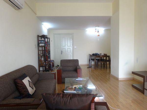 Furnished 3 bedroom apartment in the building at 713 Lac Long Quan street