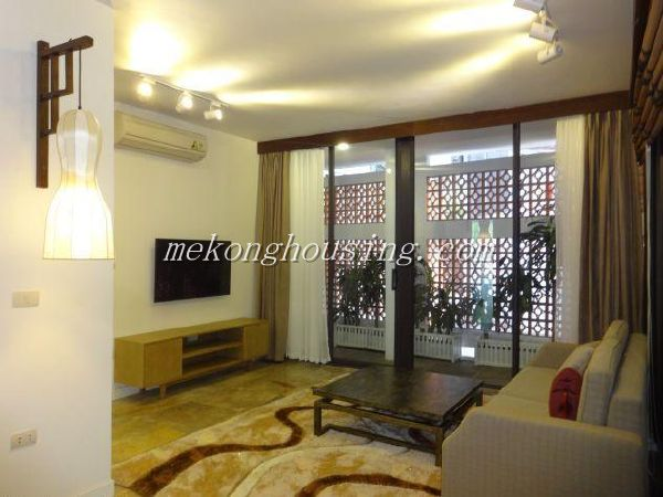 Two bedrooms serviced apartment in Dang Thai Mai street, Tay Ho district, Hanoi for lease