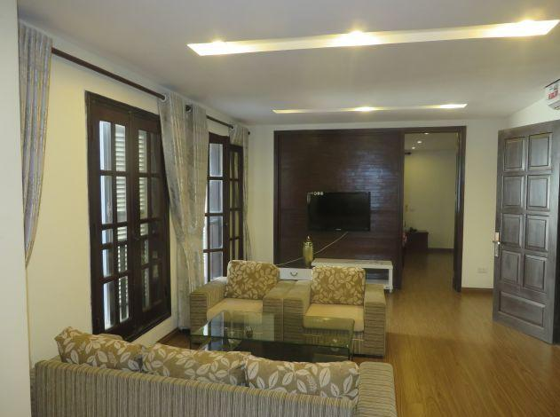 Two bedrooms serviced apartment in Xuan Dieu street, Tay Ho district, Hanoi for lease