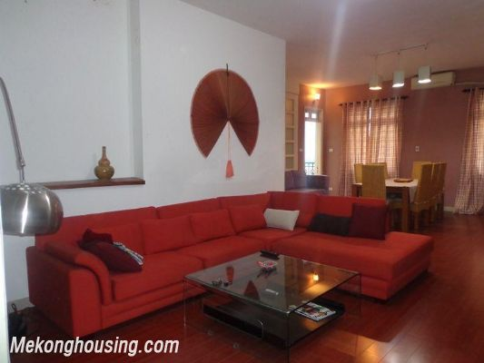Two bedrooms apartment for rent in Doi Nhan street, Ba Dinh district, Hanoi 1