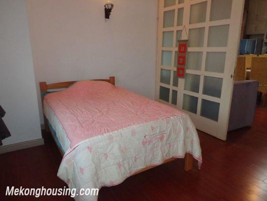Two bedrooms apartment for rent in Doi Nhan street, Ba Dinh district, Hanoi 11