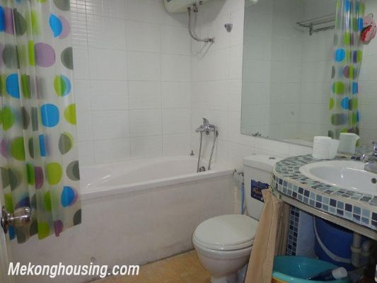 Two bedrooms apartment for rent in Doi Nhan street, Ba Dinh district, Hanoi 15