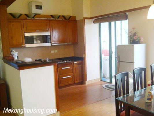 Two bedrooms apartment for rent in Hoang Hoa Tham street, Ba Dinh district, Hanoi 3