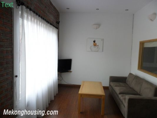 Two bedrooms apartment with large balcony for rent in Van Mieu, Dong Da, Hanoi 2