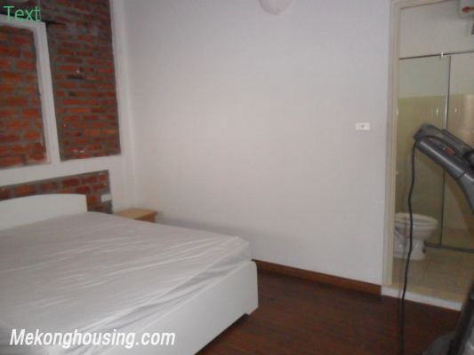 Two bedrooms apartment with large balcony for rent in Van Mieu, Dong Da, Hanoi 9