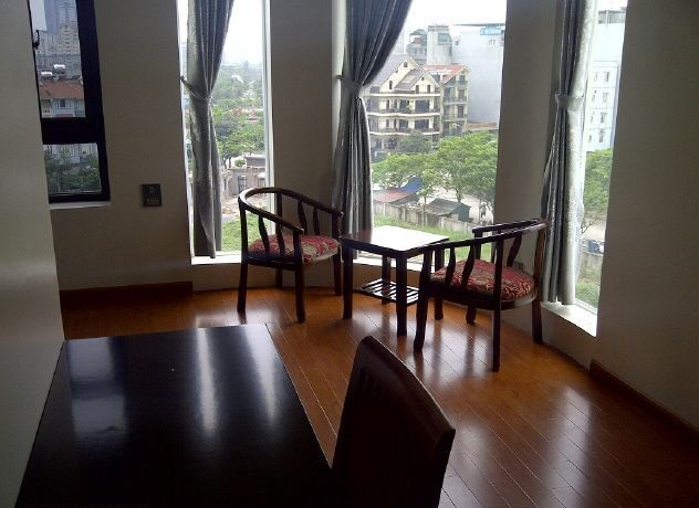 Two bedrooms serviced apartment for rent in Dich Vong, Cau Giay, Hanoi