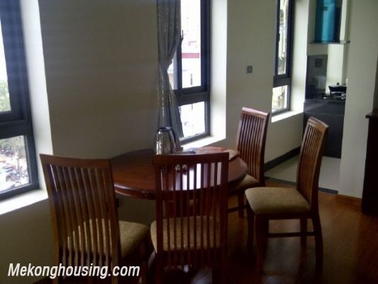Two bedrooms serviced apartment for rent in Dich Vong, Cau Giay, Hanoi 2