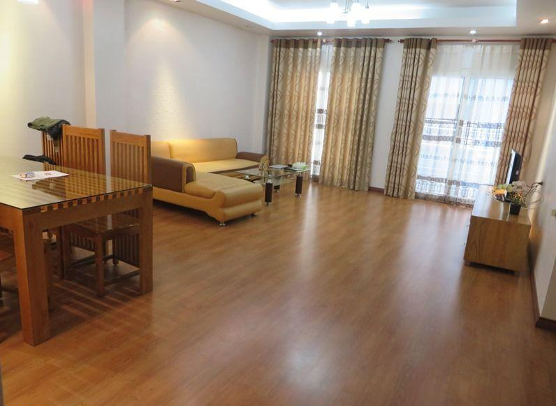 Two bedrooms serviced apartment for rent in Thai Ha street, Dong Da district, Hanoi