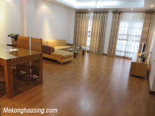 Two bedrooms serviced apartment for rent in Thai Ha street, Dong Da district, Hanoi 1