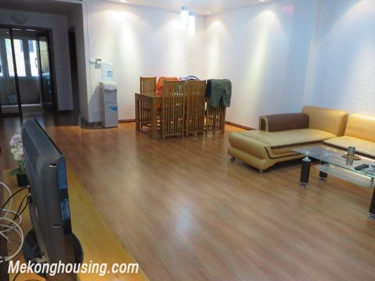 Two bedrooms serviced apartment for rent in Thai Ha street, Dong Da district, Hanoi 2