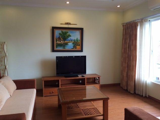 Two bedrooms serviced apartment for rent in To Ngoc Van street, Tay Ho district, Hanoi