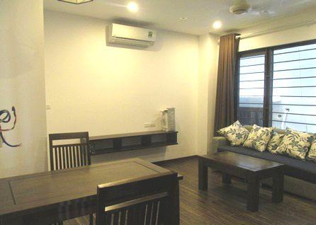 Two bedrooms serviced apartment for rent in Tran Quoc Hoan street, Cau Giay district, Hanoi