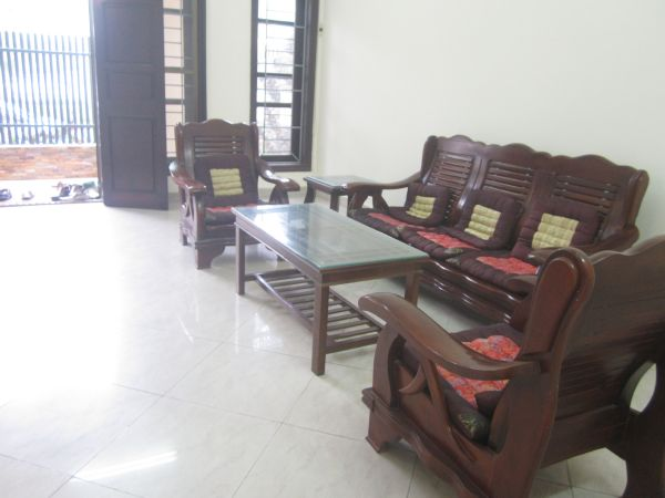 Unfurnished and spacious villa with 5 bedrooms for rent in C block, Ciputra Hanoi
