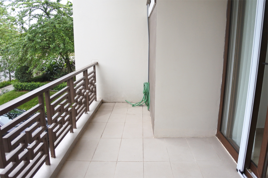 Unfurnished villa for rent with 5 bedrooms for rent in Q block, Ciputra Hanoi 6