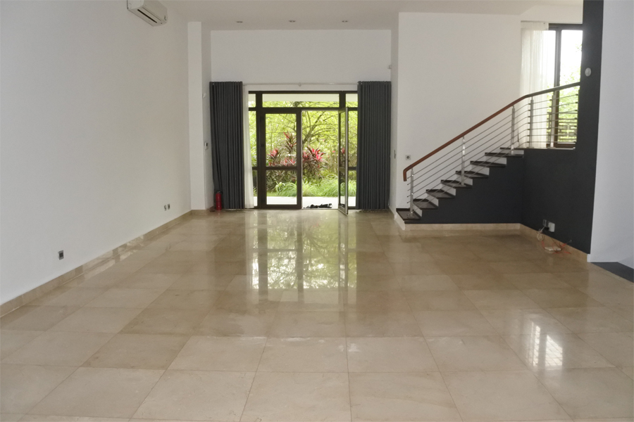 Unfurnished villa for rent with 5 bedrooms for rent in Q block, Ciputra Hanoi 9