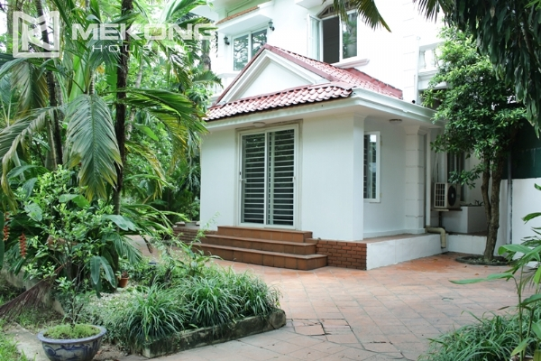 Unique villa for rent with 6 bedrooms in Tay Ho district 1