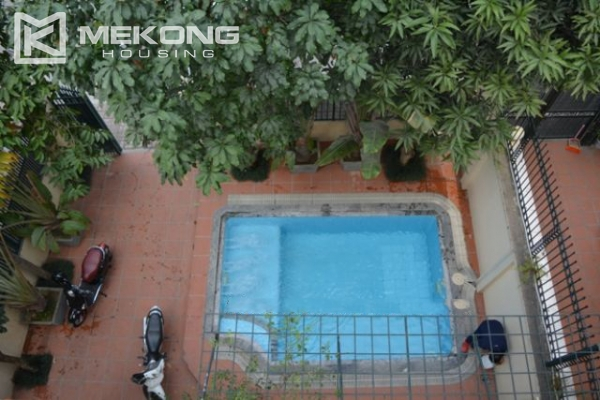 Unique villa with swimming pool in Nghi Tam 4