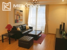 Well decorated apartment with 2 bedrooms on high floor in Vinhomes Nguyen Chi Thanh