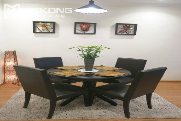 Well decorated apartment with 2 bedrooms on high floor in Vinhomes Nguyen Chi Thanh 2